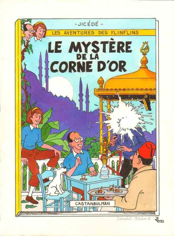 09 - Le mystère de la Corne d'or lo
